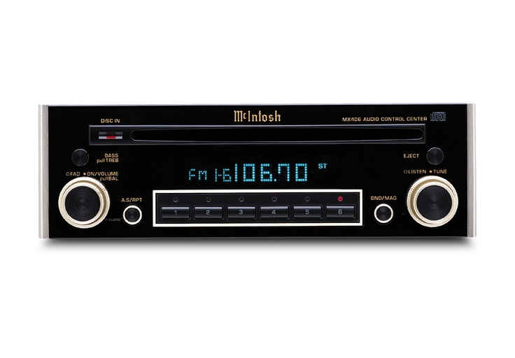 McIntosh car audio head unit