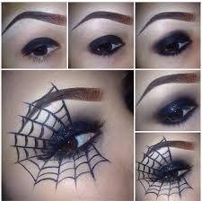 Resultado de imagen de maquillaje de halloween telaraña