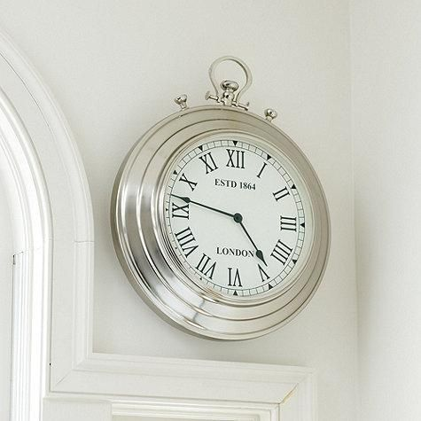 Best 25 Silver Wall Clock Ideas On Pinterest  Wall Clock Numbers Magnificent Small Wall Clock For Bathroom Decorating Design