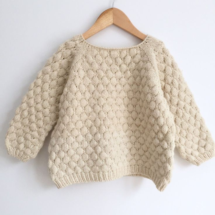 Brought up by wolves: Bubblewrap Jumper Pattern