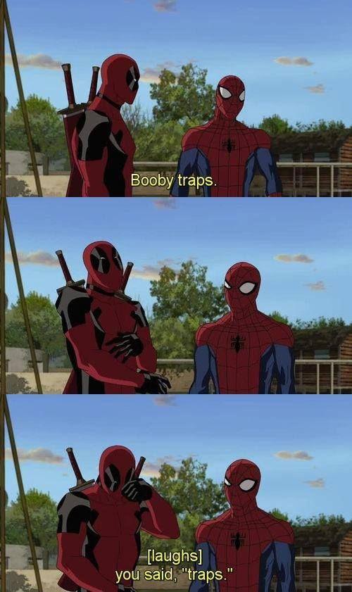 Deadpool humor at it's finest