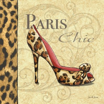 RB2215 <br> Paris Couture Shoe I <br> 12x12