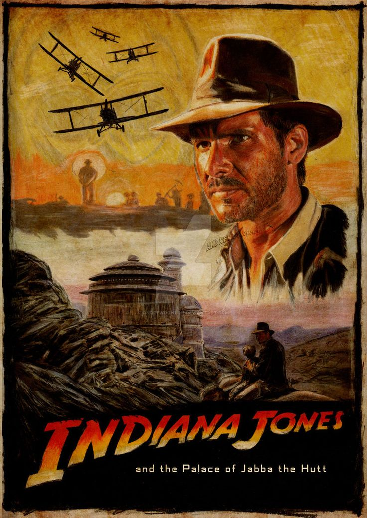 Indiana Jones and the Palace of Jabba the Hutt by andrewoonline on DeviantArt
