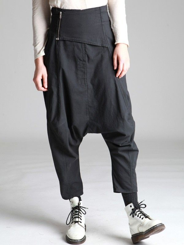 LOW CROTCH TROUSERS - JACKETS, JUMPSUITS, DRESSES, TROUSERS, SKIRTS, JERSEY, KNITWEAR, ACCESORIES - Woman -