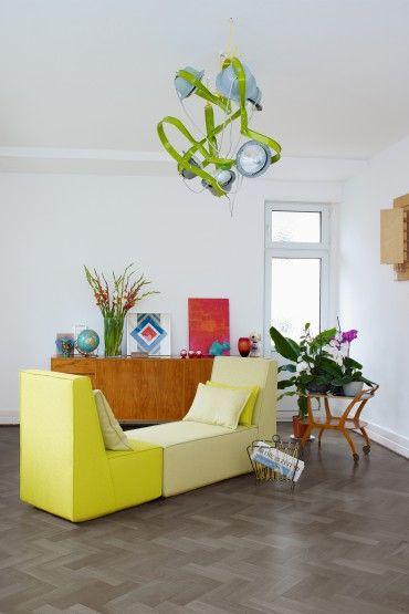 Modulares Sofa Im Puristischen Design Ist Modern