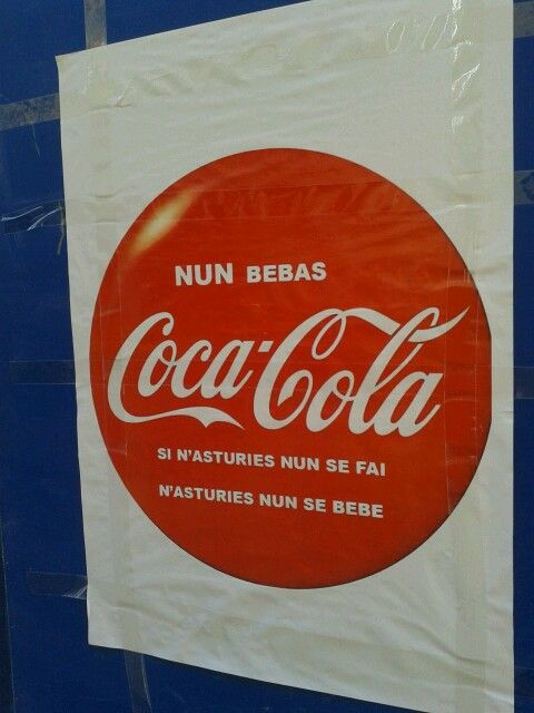 """Coca-Cola workers on Spain are fighting against unemployment future for most of them.   Share to support them!!    The writting said """"If here we don't produce it, here we don't drink it""""!"""