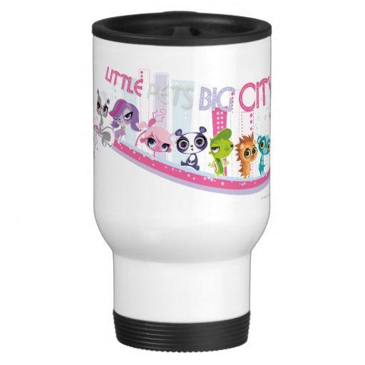 Ciudad grande de los pequeños mascotas. Regalos, Gifts. Producto disponible en tienda Zazzle. Tazón, desayuno, té, café. Product available in Zazzle store. Bowl, breakfast, tea, coffee. #taza #mug