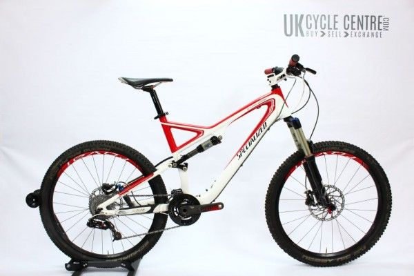 """Specialized Stumpjumper Expert FSR Carbon 26"""" (19"""") Great all day - all mountain bike"""