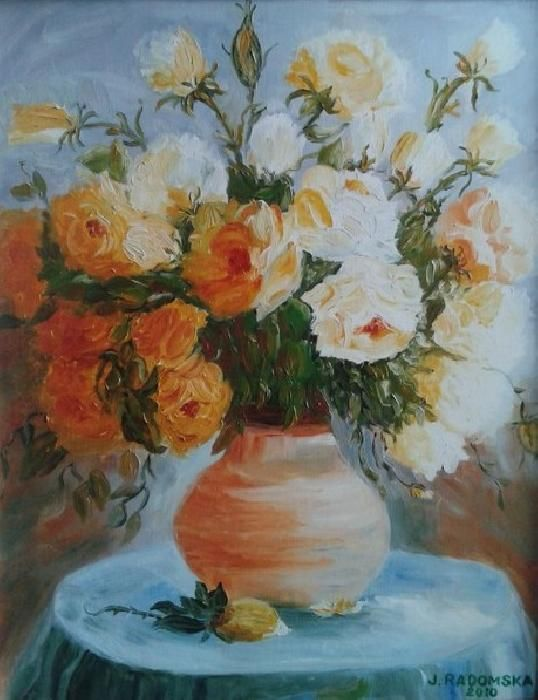 Jadwiga Radomska|Herbaciane róże