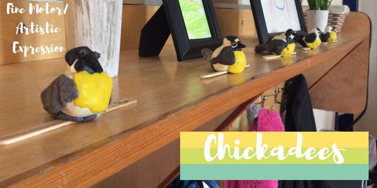 Plasticine Chickadees