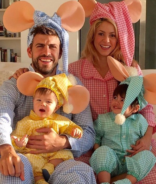 "8. Shakira Doesn't Believe In Marriage Instagram Pictured here with lover, Gerard Pique, and sons Sasha and Milan, Shakira flashes a smile that reflects how happy she truly is.""We don't feel like we need to recite vows and formalize it in order to be together. I don't believe in that,"" …"