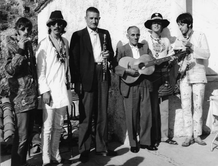 The Beatles in Greece, July 1967