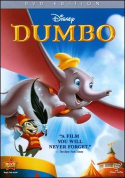 Dumbo! A really scary movie!!!!!! Just think about it!