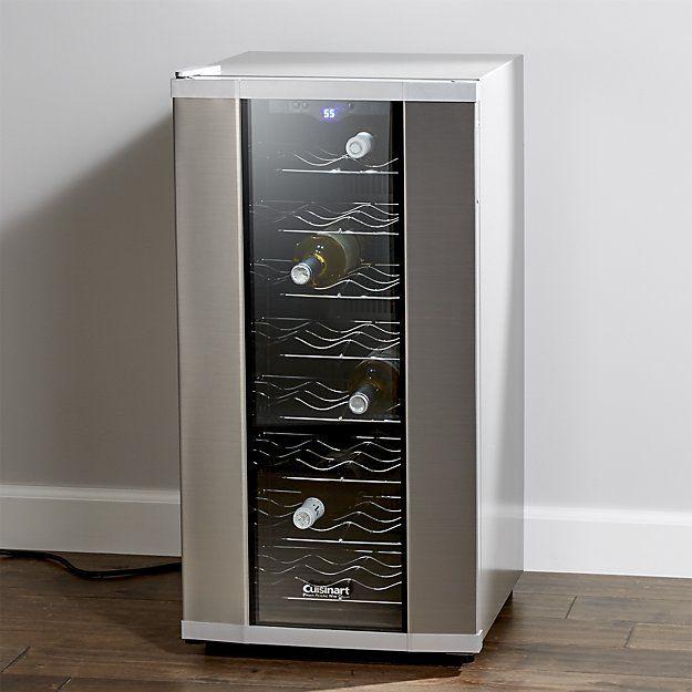 Cuisinart ® 32-Bottle Wine Cooler   Crate and Barrel