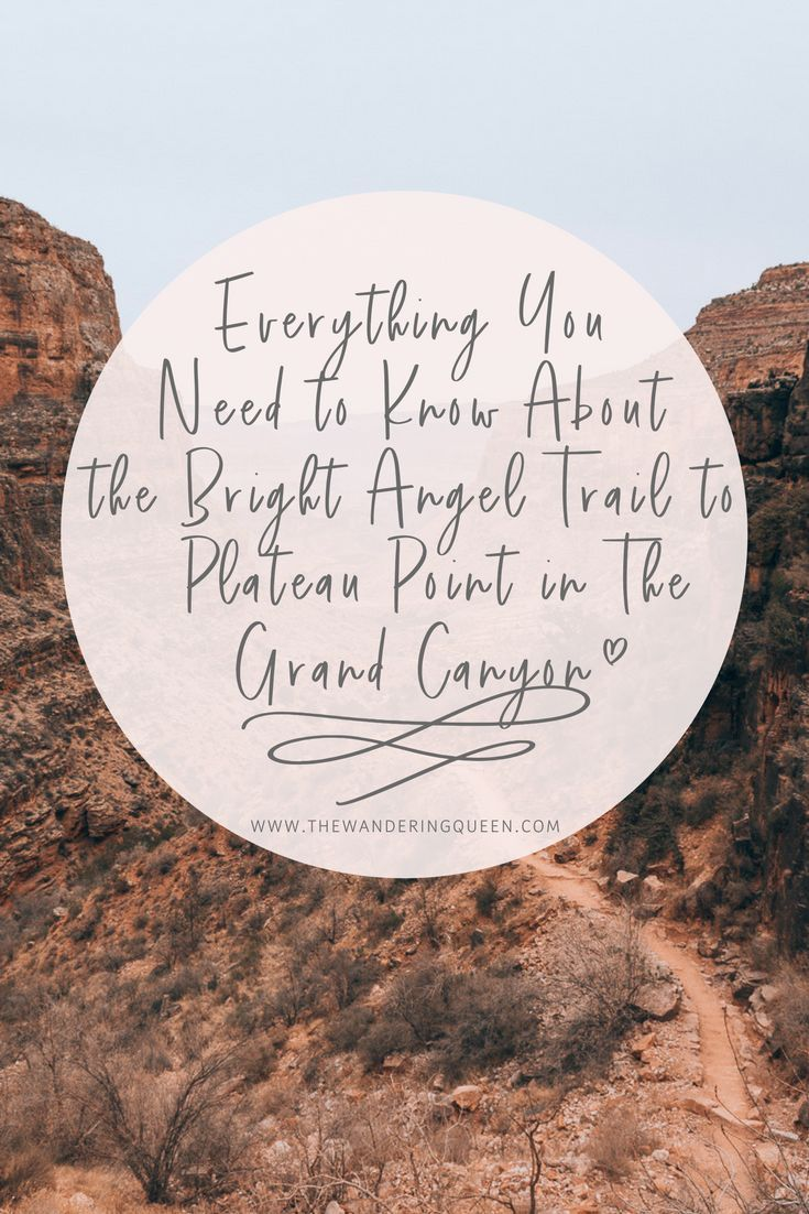 Everything You Need to Know About the Bright Angel Trail to Plateau Point in The Grand Canyon, #Photography, #Arizona, #USA, #Hiking, #Backpacking, #Camping, #IndianGardenCampground, #Sunset #grandcanyon