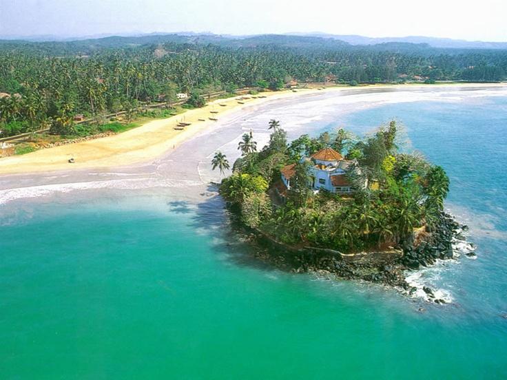 Taprobane island, Weligama, Southern Province, Sri Lanka #VisitSriLanka #lka