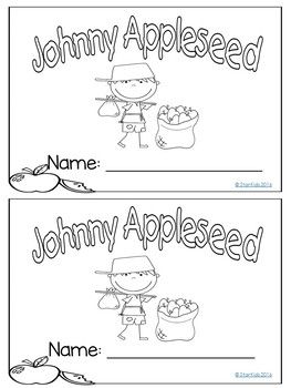 JOHNNY APPLESEED ACTIVITIES {MINI-UNIT FOR K-1