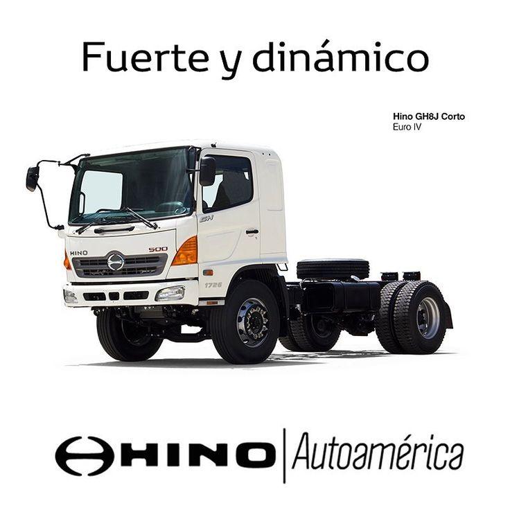 Con un diseño fuerte y dinámico, este camión #Hino GH Corto siempre te dará los mejores resultados en lo que necesites, sea una volqueta o una mula. Conoce mejor sus atributos aquí https://goo.gl/o9D6in y te esperamos en nuestra sede #Autoamérica #Hino