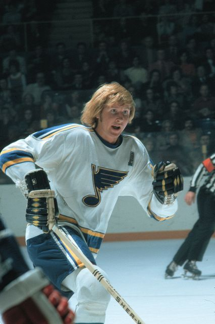 Garry Unger - St. Louis Blues with his distinct mane a serious Christian man who had a living testimony and a good witness
