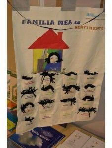 Plansa FAMILIA MEA cu sentimente contine 4 emotii (teama, supararea, surprinderea, bucuria) usor identificabile de copii si parinti datorita expresiei faciale surprinse. Emoțiile sunt puse pe chipul membrilor unei familii (mama, tata, fiul, fiica).  http://jucarii-vorbarete.ro/produs/plansa-familia-mea-cu-sentimente/