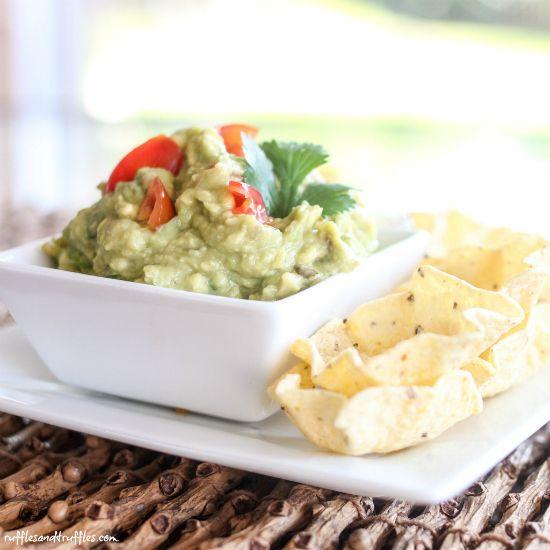 Classic Guacamole #recipe - easy, simple, and tasty!