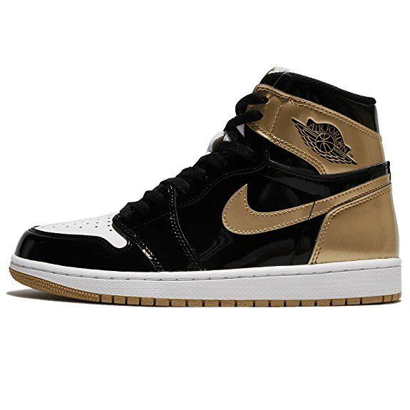 Nike Mens Air Jordan 1 Retro High Og Nrg Top 3 Black Metallic