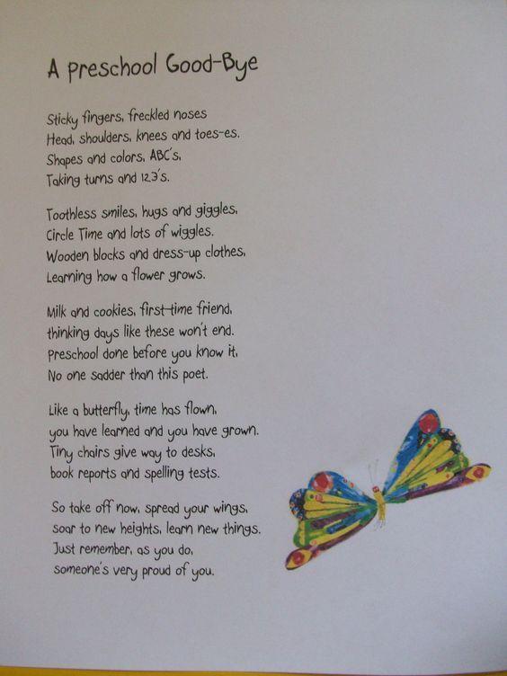 Best  Kindergarten Graduation Speech Ideas On   Pre