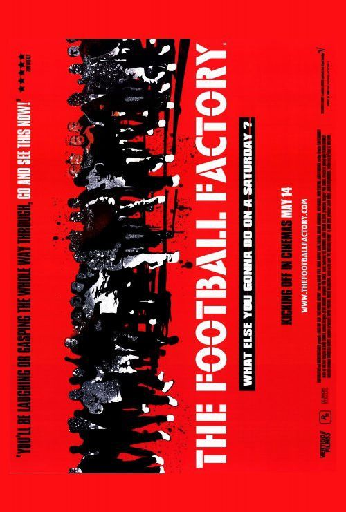 The Football Factory 27x40 Movie Poster (2004)