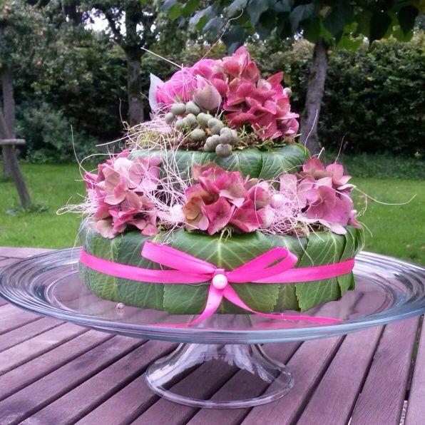 Hortensia-taart.