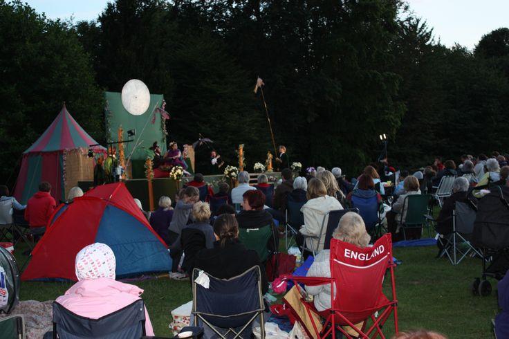 Outdoor theatre at Hardwick Park www.durham.gov.uk/hardwickpark