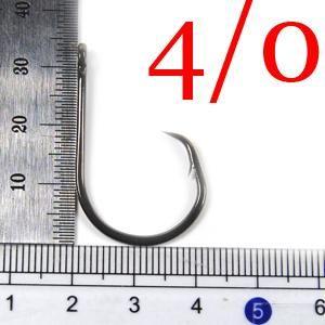 50Pcs Circle Hook High Carbon Steel Soltwater Fishhook 1 1/0 2/0 3/0 4/0 5/0 6/0 7/0 8/0 9/0 10/0 Sea Fishhook
