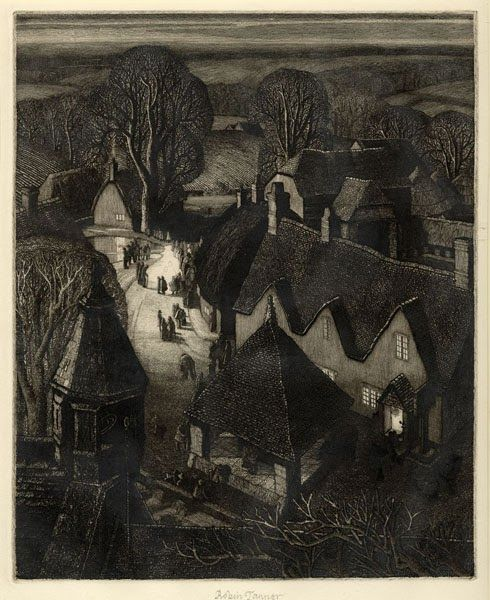 """Christmas"" by Robin Tanner, 1929"