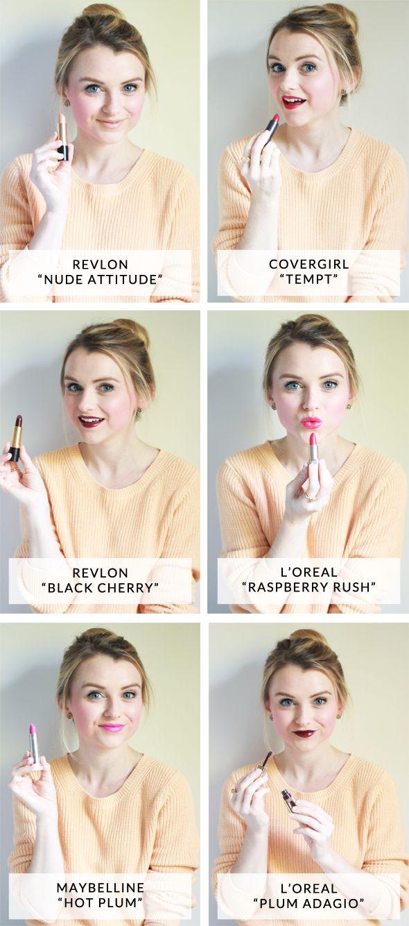 Favorite Fall Drugstore Lipsticks!