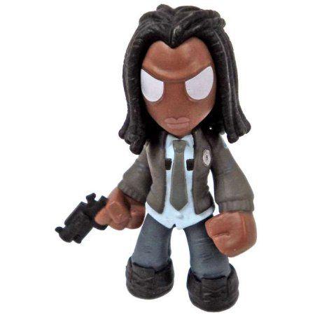 Funko Walking Dead Mystery Minis Michonne Minifigure [Police Jacket]