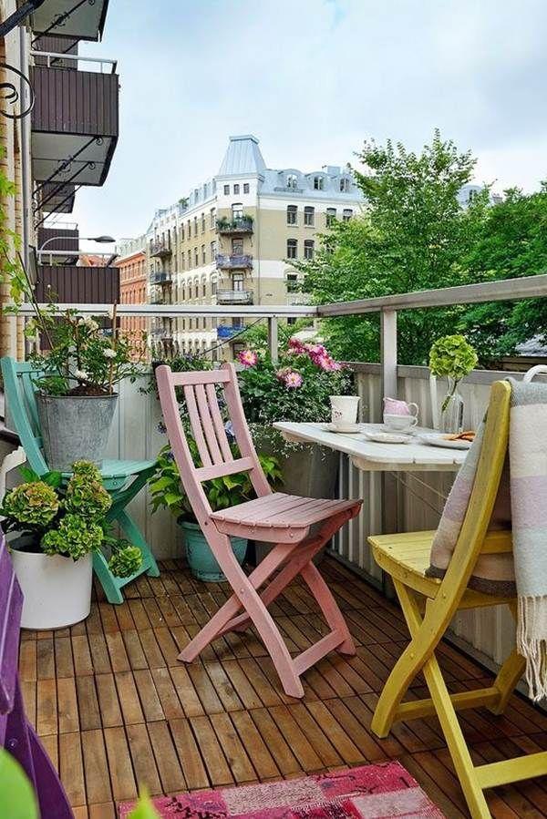 13 Small Balcony Design Ideas: 277 Best Balcones Y Terrazas Images On Pinterest
