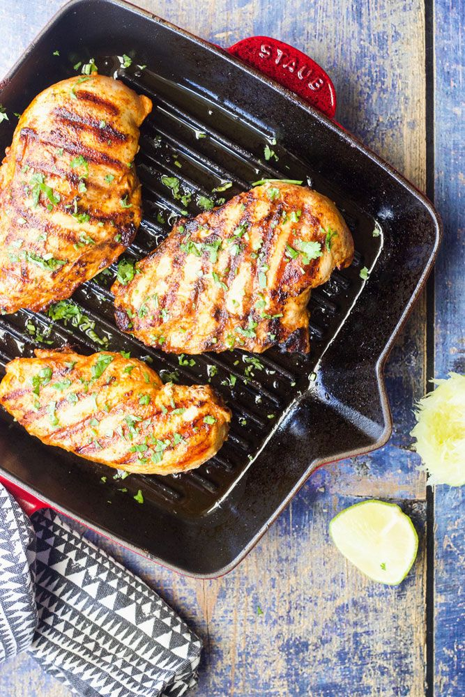 The Staub Cast Iron Grill Pan is a gem, especially in the colder winter months when it's too cold to barbecue outside!