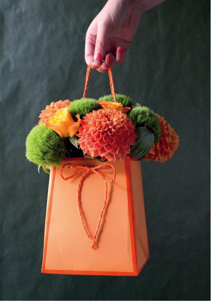 Bags at Broekhof #Broekhof #bags #flowers #packaging #bags #florist