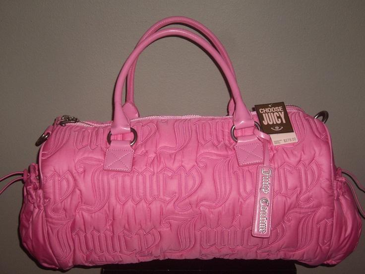 Pink Brown Juicy Couture Bag