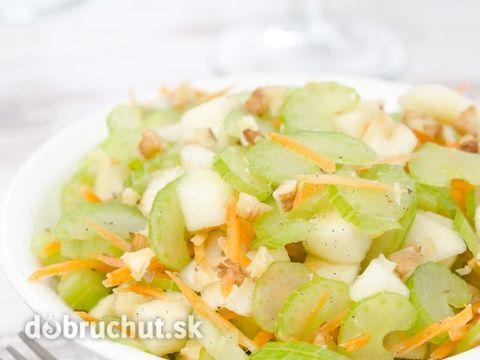 Zelerový šalát s mrkvou