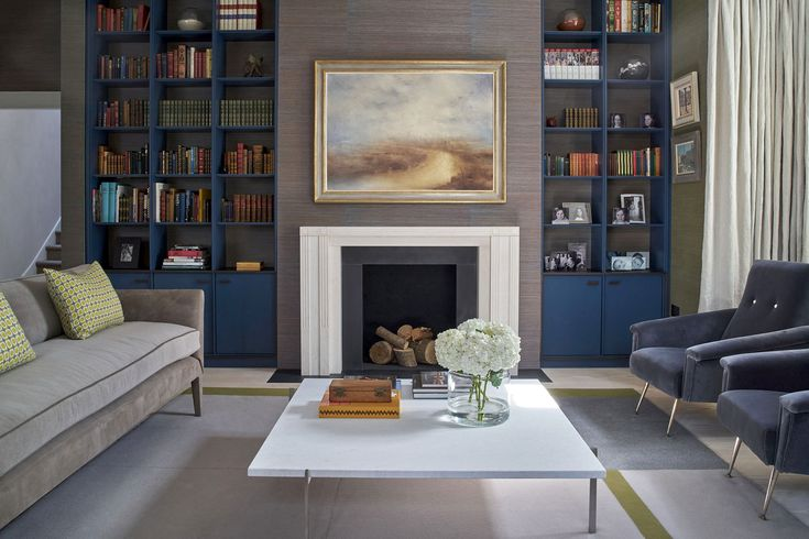 Bespoke rug designed by Robinson van Noort. Roger Oates - Tapis d'Avignon [felt]. Robinson van Noort - Contemporary Residential Design, London - Barnes, London #rogeroates