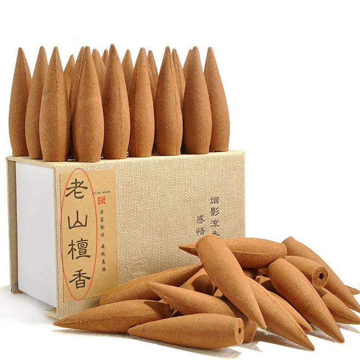 Oversized 30 Minutes Smoke Backflow Tower Incense Cones 22 Pcs Gift Hardcover Laoshan Sandalwood Incense with Incense Holder - 10 MINUS