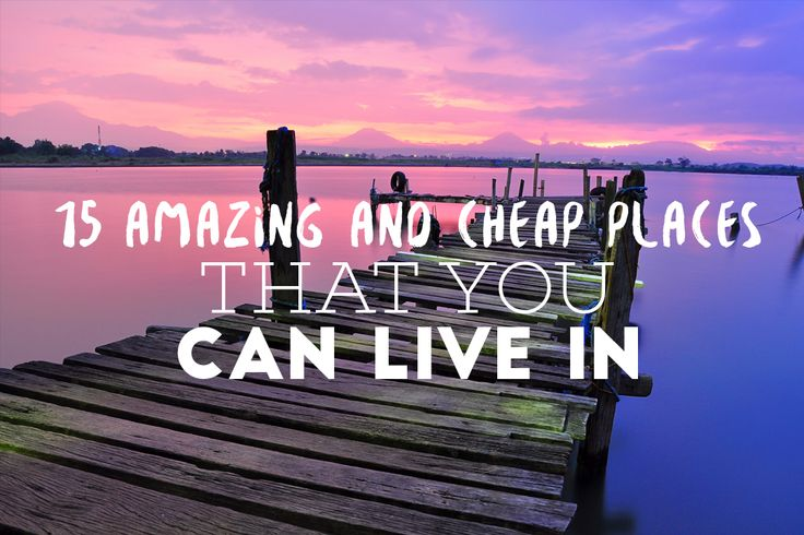 Are you looking to stay at a place that is wonderful enough to save your money?  Here you go. We have picked out for you some places that you may find awesome for your dwelling. Indonesia Tops the chart for being a low-budgeted and really beautiful place to live.
