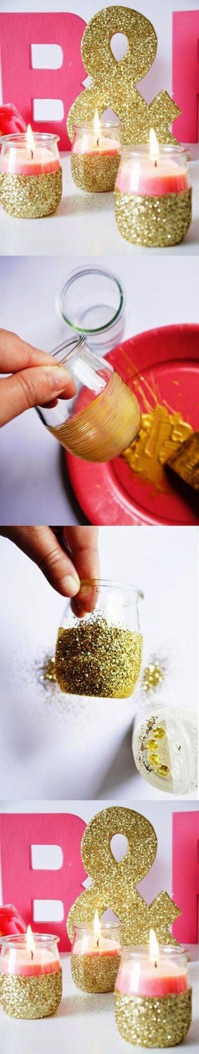 Beautiful Jar Candle Craft   DIY & Crafts
