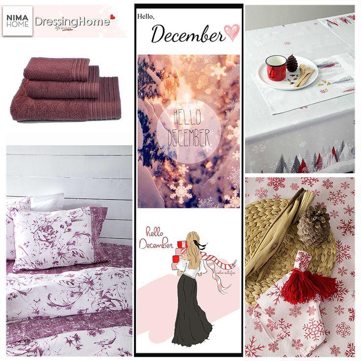 Καλημέρα καλό μήνα!! Happy December! ❄️☕🎄✨ --> NIMA HOME <--  ↘️Επικοινωνήστε μαζί μας για διαθεσιμότητα ☎️ Τηλεφωνικές παραγγελίες: 210 3221618  📧 e-mail: info@dressinghome.com 🚚 Δωρεάν μεταφορικά με αγορές άνω των 49€  #dressinhhome #nimahome #happydecember #goodmorning #winter #homelinen #newcollection #homedecoration #homedecor #homeaccessories #home #qualityproducts #homestyle #homefashion #leukaeidi #winter18 #newentry #λευκαειδη