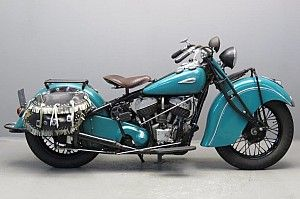 Indian 1940 Chief CAV 1200cc 2 cyl sv 2611