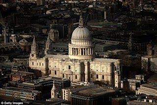 A woman has died after falling from the Whispering Gallery at St Paul's Cathedral Daily Mail UK reports. Emergency services were called to the London tourist attraction after the woman plunged 98ft to her death. She was pronounced dead at the scene at 10.30am and St Paul's was closed this afternoon. City of London Police said the death was not being treated as suspicious. The Whispering Gallery is the first of the three-dome structure inside the historic building. The height of the gallery…