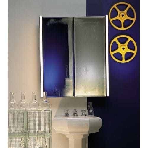 Robern MP16D4FPRE 15 1/4 Single Door Medicine Cabinet With Beveled Mirror