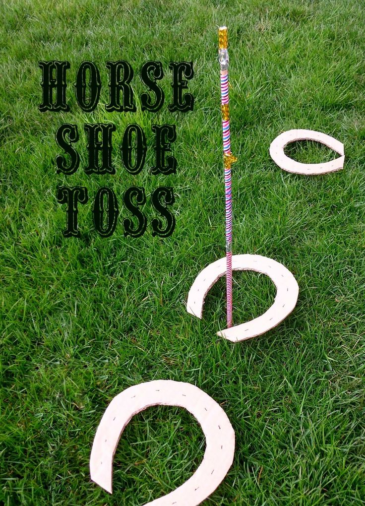 Mothers Madness: Wild West horse shoe toss Good idea for Melbourne Cup Week
