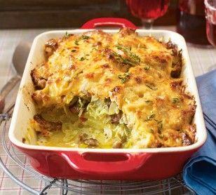 Das Rezept für Ofen-Gyros mit Kartoffeln und weitere kostenlose Rezepte auf LECKER.de