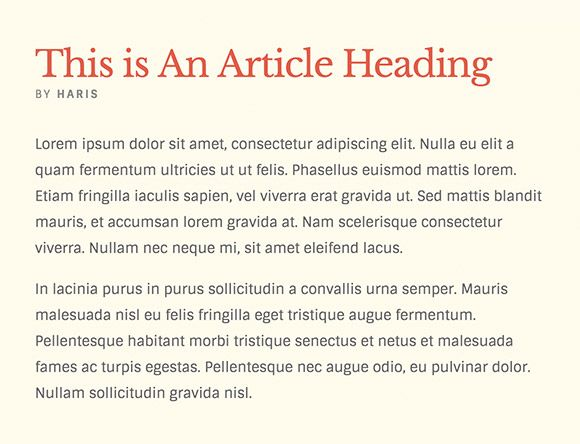 This is 10 Great Font Combinations from Google Web Fonts.